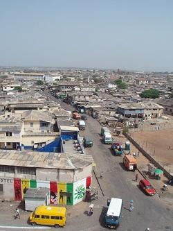 Accra coast