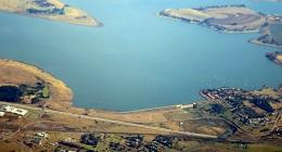 Midmar dam-aerial